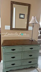 Entryway dresser. Think I may do this color instead of restaining