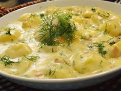 Cooking Light, Bon Appetit, Cheeseburger Chowder, Risotto, Food And Drink, Soup, Potatoes, Cooking Recipes, Treats