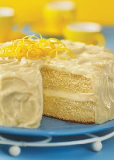 Best lemon cake. Secret = Sprite