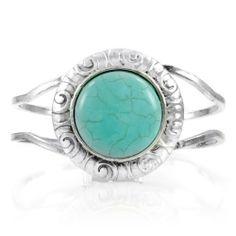 Flora's Turquoise Cuff Bracelet Emitations, http://www.amazon.com/gp/product/B002PC6MFI/ref=cm_sw_r_pi_alp_bOiEqb1QWA62Q
