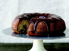 Celebrate National Banana Bread Day with Chocolate Peanut Butter Glazed Banana Bread Bundt Cake http://www.ivillage.com/sunday-national-banana-bread-day-celebrate-all-weekend-these-great-recipes/3-a-562658