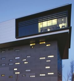 Newcastle College. Design by RMJM. EQUITONE facade panels. #architecture #material #facade www.equitone.com