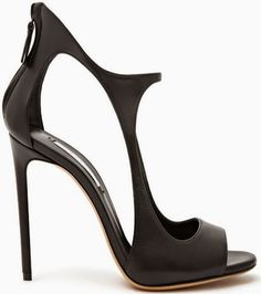 Casadei Milan ~ Leather Stilettos, Black, Spring 2015