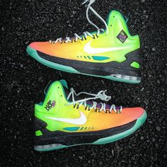 19a8614e437f Cheap Nike KD V Surf Style Customs by Mache Kevin Durant shoes 2013 For Sale