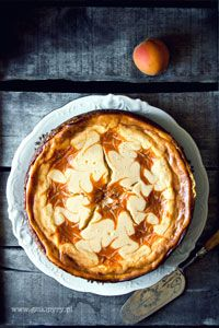 Cheesecake with apricots Something Sweet, Queso, Food Photography, Cheesecake, Pie, Desserts, Pastries, Torte, Cake