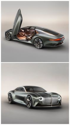 Bentley EXP 100 GT Concept: The Gorgeous Future of Luxury ⁠Autonomous capability; copper, wood, leather, and wool—they all combine in this look at how the upper crust will get around in Tap the link for our first look at the Bentley EXP 100 Ferrari F80, Lamborghini, New Sports Cars, Exotic Sports Cars, Sport Cars, Exotic Cars, Bugatti, Maserati, Concept Bmw