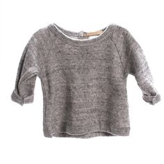 NEW IN gold grey melange sweatshirt