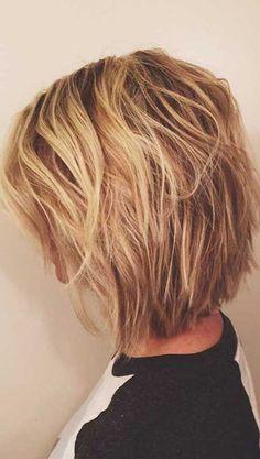 8.Hairstyle de cabelo curto em camadas