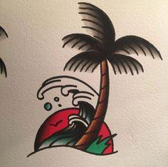 Traditional Sailor Tattoos, Traditional Tattoo Drawings, Traditional Tattoo Design, Traditonal Tattoo, Desenhos Old School, Tattoo Tradicional, Tatto Old, Sailor Jerry Tattoos, Spooky Tattoos