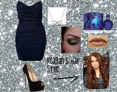 """""""night at the club"""" by katiekatlove ❤ liked on Polyvore"""