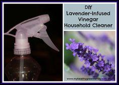 DIY Lavender-Infused Vinegar Household Cleaning Spray