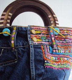 Mano de viejos pantalones vaqueros. Comentarios: LiveInternet - Russian servicios en línea Diaries