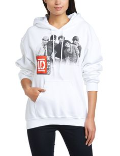 One Direction One Direction Hoodie Group Photo - Sudadera para mujer: Amazon.es: Ropa y accesorios