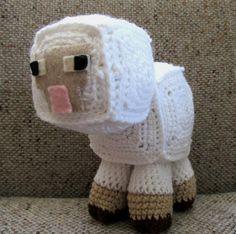 Minecraft Sheep Plush / Stuffed Animal on Etsy, $21.06