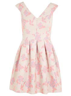 Petites Pink Rose Bardot Dress - Miss Selfridge Day Dresses, Dresses For Sale, Dress Outfits, Prom Dresses, Summer Dresses, Summer Outfits, Brigitte Bardot, Vintage Girls, Vintage Dresses