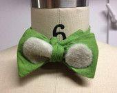 Boy Felted Bow Tie. $8.00, via Etsy.