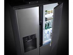 Geladeira/Refrigerador LG Frost Free 600L - Dispenser Água Painel Touch Lancaster GC-J237JSPN com as melhores condições você encontra no Magazine Wagnerlipe. Confira!