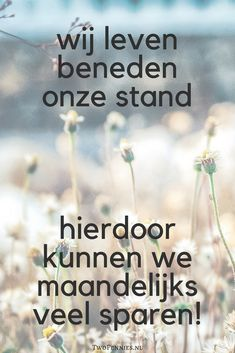 Beneden je stand leven - Two Pennies