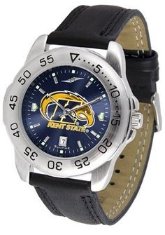 Kent State University Golden Flashes Sport Leather Band Anochrome - Men's - Men's College Watches by Sports Memorabilia. $50.76. Makes a Great Gift!. Kent State University Golden Flashes Sport Leather Band Anochrome - Men's