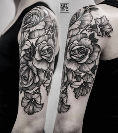 Beautiful roses by @olakoltowska