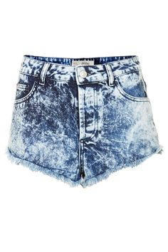 Tall MOTO Brooke Acid Wash Hot Pants - New In This Week - New In - Topshop Europe