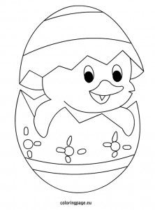 FREE Easter Chick Drawings | Cute Easter Chicks to print