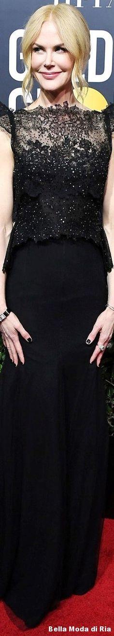 Nicole Kidman l 75th annual Golden Globe Awards l Jan. 2018