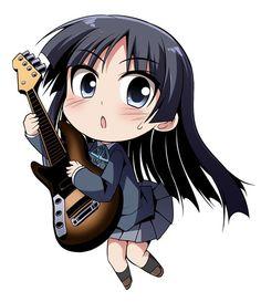 Anime / K-on / Mio / Chibi