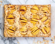 Fresh, juicy peach halves give this vanilla and buttermilk Peach Almond Cake bursts of color and concentrated sweet-tart flavor, while the addition of brandy to the homemade marzipan lends just the right amount of kick. For more recipes that make the most of your 9×13 sheet pan, get our July/August issue here.   Save Recipe …