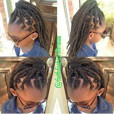 Marley twists for little girls.