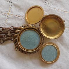 Antique Victorian Estate Jewelry Locket Bracelet for Hair and pictures Mourning