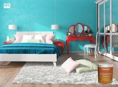 ¡No esperes más! Pinta tu cuarto con esos colores que has tenido en mente... Con Vinimex BioSense puedes habitarlo de inmediato. #ProductosComex #Colorful #ideas #Decoracion #Lifestyle #Deco #Home #Interior #Comex