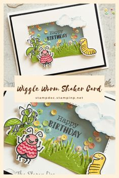 The Stamp Doc - Fall Birthday, Kids Birthday Cards, Diy And Crafts, Crafts For Kids, Paper Crafts, Christmas Craft Show, The Wiggles, Shaker Cards, Ink Pads