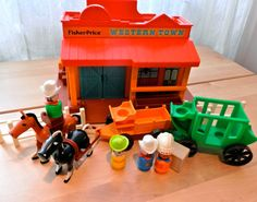 Fisher Price Western Town by LittleCityVintage on Etsy