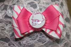 Metal Mulisha Bow skull bow hot pink and by PinkyDinkyBowtiki, $4.99- OMG I want some of these!!!!