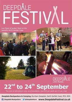 Deepdale Festival  Deepdale Backpackers & Camping will host...