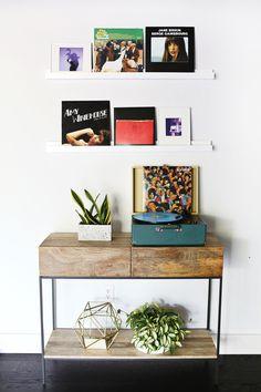 DIY photo ledge