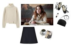 """""""You take the way out"""" by andreaceja ❤ liked on Polyvore featuring Daniel Wellington, RED Valentino, Proenza Schouler and Ballet Beautiful"""