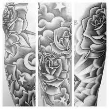 Resultado de imagem para star and cloud tattoos