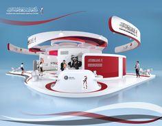 Hamdan Heritage Center Exhibition Stand m Exhibition Stall Design, Exhibition Display, Exhibition Stands, Exhibit Design, Hanging Banner, Heritage Center, Event Design, Design Inspiration, Colors