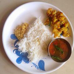vegfood: Lunch Menu - Main Course spread idea 3