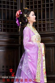 Image result for purple and pink chinese dress\