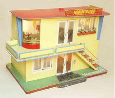 Puppenhäuser 50er 25