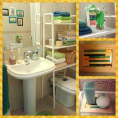 Order in the bathroom & color's sticks icecream