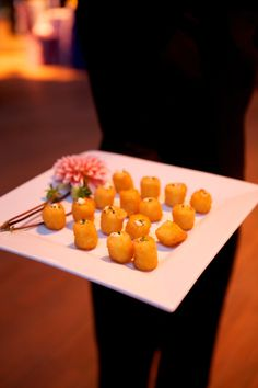 Mac and Cheese Croquettes Macaroni Cheese, Macaroni And Cheese, Catering Ideas, Canapes, Work Inspiration, Comfort Foods, Entertaining, Fruit, Party