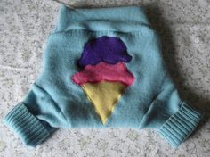 Wool Soaker Cover Medium $16 by My Woolie Baby on Etsy