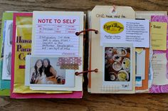 use anything for journal pages