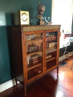 Watercress Springs Estate Sales Weston CT Moving Sale May 9th-10th, 2015 - Bookcase with Glass Doors