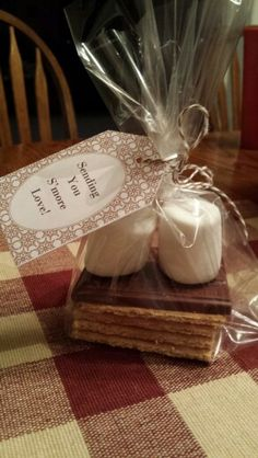 Sending you S'more Love! / Wedding shower favors.