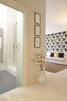 Elegáns és letisztult - Teljeskörű belsőépítészeti és lakberendezési tervezés Alcove, Bathtub, Mirror, Bathroom, Furniture, Home Decor, Standing Bath, Washroom, Bathtubs